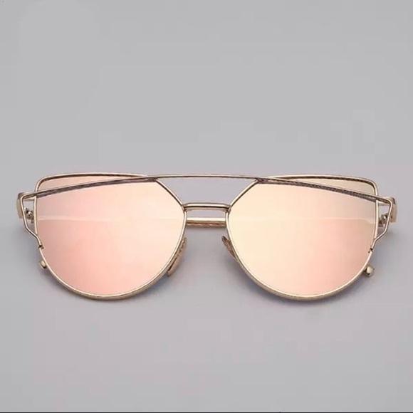 06c35c8fd6ce Aviator Cat Eye Pink Mirrored Sunnies